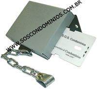 Trava de Cartão para Controle de Carrinhos de Compras - TC2