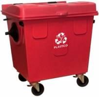 Container de Lixo p/ Coleta Seletiva 1000 Litros -CT100