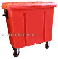 Container de Lixo 700 Litros - Diversas Cores - LP700