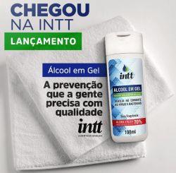 Álcool Gel 70%  - Antisséptico para as mãos - 100ML