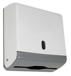 Toalheiro Jr em ABS p/ papel interfolha 2 ou 3 dobras - N15