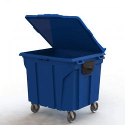 Container Lixo 1000 Litros p/ Coleta Seletiva - RF100