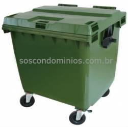 Container Plastico Injetado p/ Lixo 1000 Litros - CX10