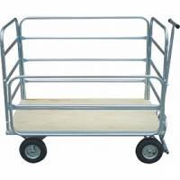 Carro Coletor de Lixo / Carga-  Plataforma Mini - 560L - B100