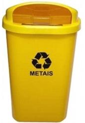 Cesto de Lixo c/ Abertura Frontal 50L - T6