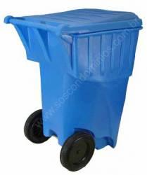 Carro Coletor de Lixo 360 Litros - BSH360